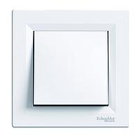 Выключатель одноклавишный  перекрестный Schneider Electric Asfora, белый