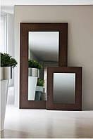 Зеркало в металлической оправе, фото 1