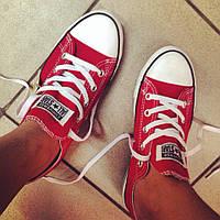 Кеды Converse низкие красные