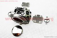Головка цилиндра в сборе на мотоцикл  CB-125 cc полный комплект