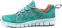 Женские кроссовки Nike Free Run (найк фри ран) голубые