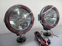 """Дополнительные ксеноновые фары 7"""" HID 55W Spot - дальнего света. 2 шт."""