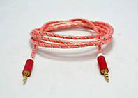 AUX кабель силиконовый 1,5 м, фото 1
