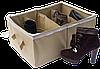 Органайзер для обуви на 4 пары ORGANIZE (бежевый), фото 3