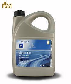 Автомобильное масло GM Dexos2 Longlife 5W30 4 л