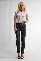 """Женские стильные брюки """"79-364""""Батал(Клетка)"""