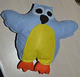 Фетровая игрушка филин, фото 2