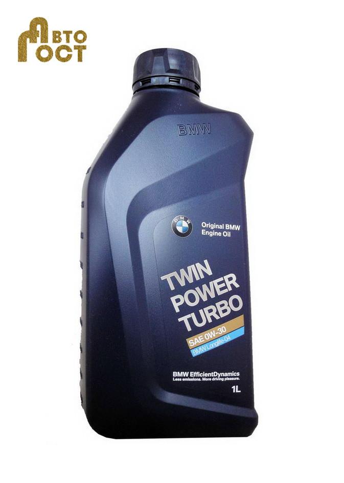 Масло моторное BMW TwinPower Turbo Longlife-04 SAE 0W-30 1 л