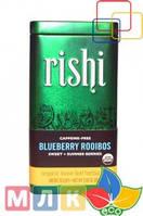 Rishi Tea Органический рассыпной травяной чай, напиток с черникой, без кофеина, 85 г