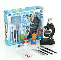 Микроскоп детский с набором для исследований