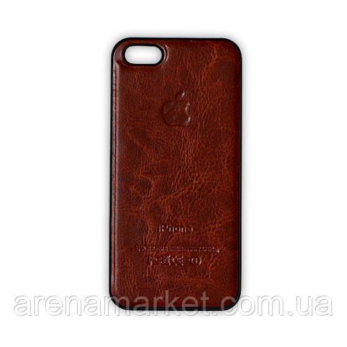 Пластиковий чохол для iPhone 5/5S - коричневий