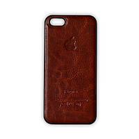 Пластиковый чехол для iPhone 5/5S - коричневый