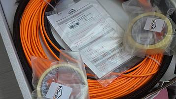 Ультра тонкий кабель теплого пола (в плиточный клей )  3 м.кв , фото 2