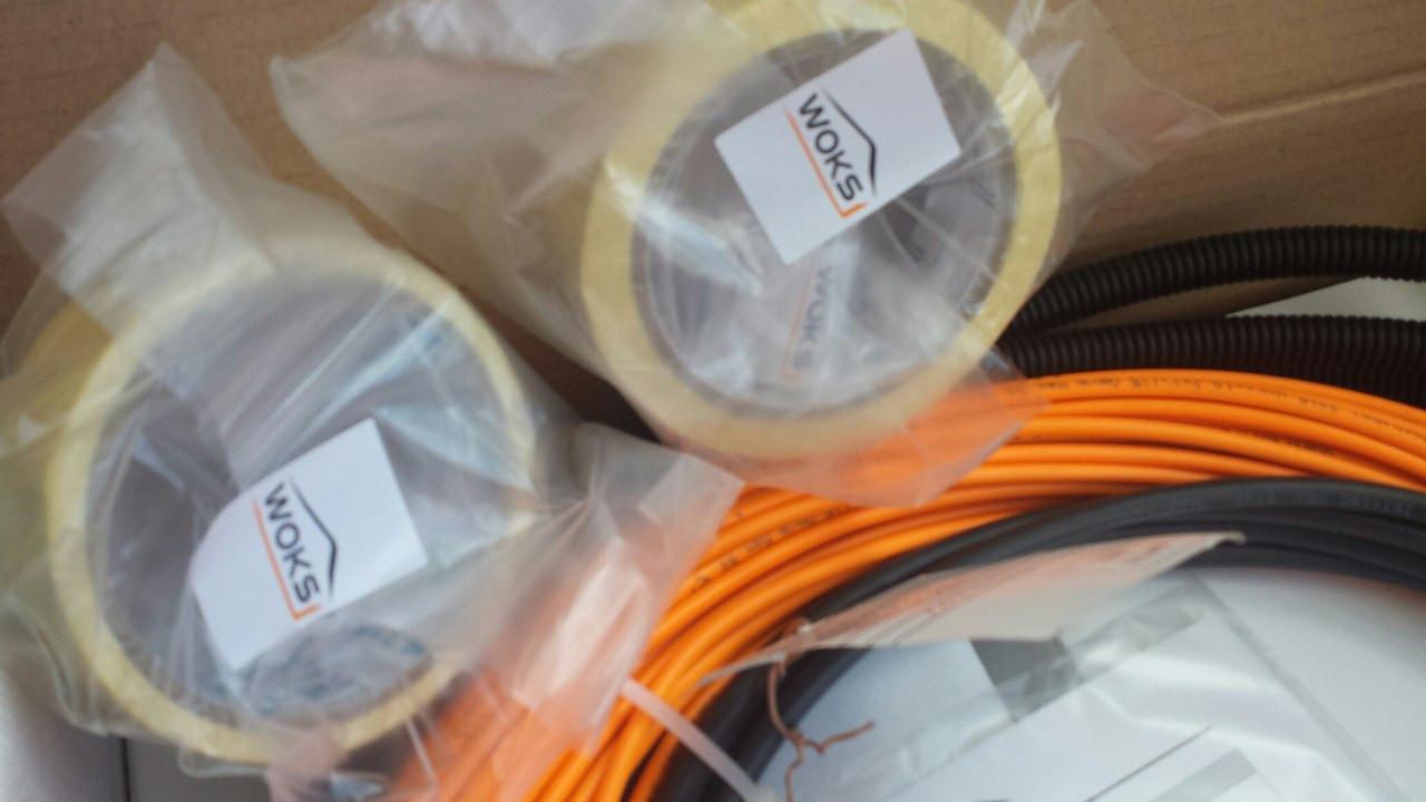 Ультра тонкий кабель теплого пола (в плиточный клей )  3 м.кв  - ИНТЕРНЕТ-МАГАЗИН  АНТАРЕС в Тернополе