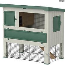 Клітка вольєр GRAND LODGE 120 Ferplast для кроликів і морських свинок, пластик