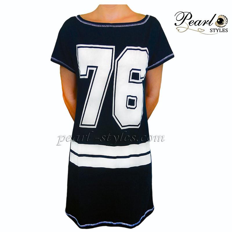 Спортивное платье -туника