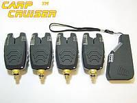Набор Сигнализаторов Поклевки CarpCRUISER  FA210-4 (АКЦИЯ!!!) с беспроводным радио пейджером продажа в Украине, фото 1