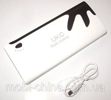 Универсальная батарея  - UKC mobile power bank 20000 mAh, 3 USB, фото 2