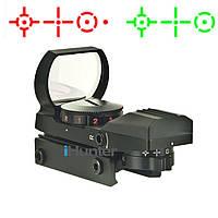 Голографический прицел 1x23x34 планка 21 мм Weaver/Picatinny, Коллиматор