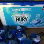 Капсулы для стирки Fairy 3 in 1 Sensitive 19 шт