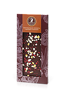 Шоколад чорний SHOUD'E з цукатами і малиною