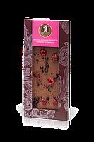 Шоколад молочний SHOUD'E з вишнями та чорницями