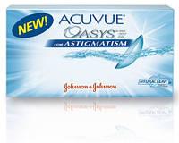 Контактные линзы ACUVUE OASYS for ASTIGMATISM.