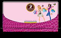 """Шоколад """"Клатч"""" черный SHOUD'E"""
