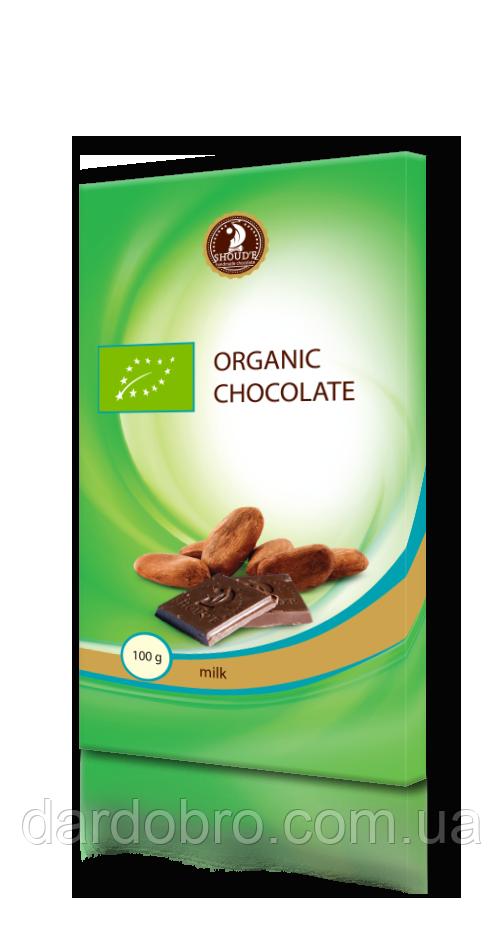 Шоколад Органический молочный SHOUD'E