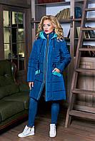 Куртка-пальто теплое женское