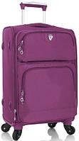 Удобный 4-колесный чемодан из нейлона 38 л. Heys SkyLite (S) Purple 923096, фиолетовый
