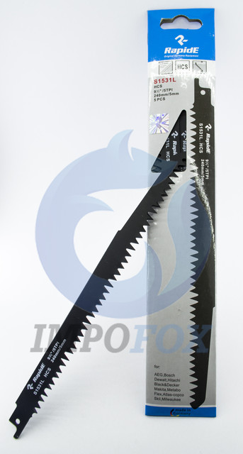 Пильные полотна для сабельных пил RapidE Sabre Blade