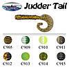 Сьедобный силикон Fishing ROI Judder Tail 3811-C911 75mm