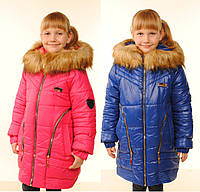 Куртка зимняя для девочки на синтепоне
