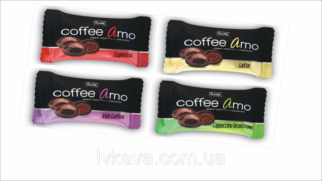 Драже в шоколаде Coffee Amo ,100 гр