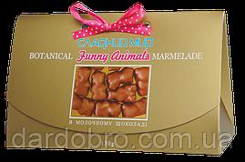 """Мармелад """"Веселі звірята в молочному шоколаді"""" ТМ """"Солодкий світ"""""""