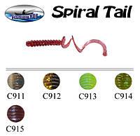 Сьедобный силикон Fishing ROI Spiral Tail 3813-C915 25mm