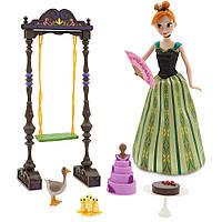 Disney Холодное сердце Поющая кукла Анна с аксессуарами Frozen Anna Deluxe Singing Doll Set