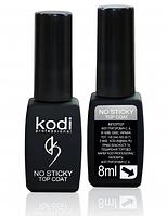 Kodi Professional No Sticky Top Coat - топ, финишное покрытие без липкого слоя для гель-лака, 8 мл