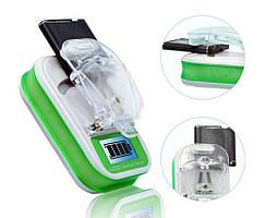 Зарядное устройство Жабка с LCD экраном+USB
