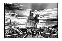 Картина на холсте архитектура (20х30)