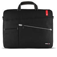 """Сумка для ноутбука CROWN  CMB-558 (black) 17"""" Classic Style"""