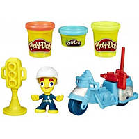 Play-Doh Город Полицейский мотоцикл Town Police Motorcycle B5975