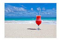 Картина на холсте На пляже (20х30)