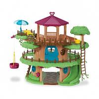 """Детский игровой набор Woodzeez """"Домик на дереве"""" для семьи зветят"""
