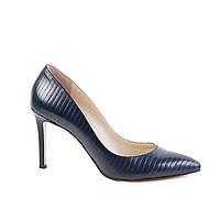 Туфли женские кожаные Аura 5850 син., фото 1