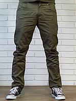 Мужские молодежные  штаны Чинос  - хлопок олива