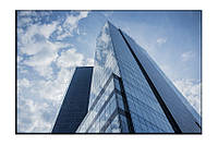Картина на холсте Здание (20х30)