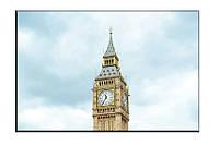 Картина на холсте Башня Лондон (20х30)