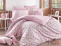 Комплект постельного белья 200х220 HOBBY Poplin Luisa розовый